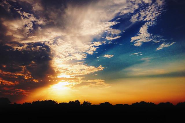Sunset over NorthPark - EXPLORE!