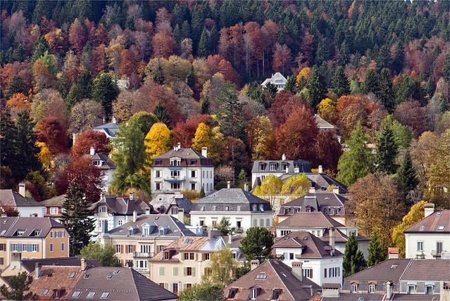 La Chaux-de-Fonds in Autumn Time. No. 61.