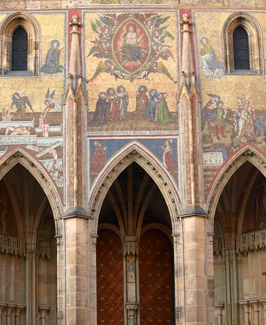 St. Vitus's Cathedral - Doorways and Wall Art - Prague