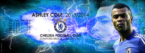 ASHLEY COLE - Season 2013/14 for facebook covers