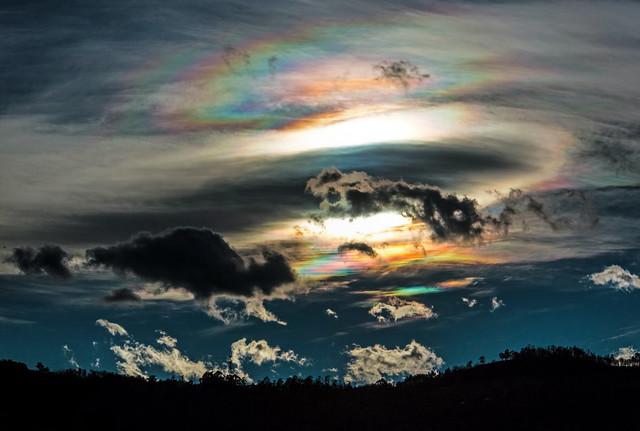 Irisaciones, halos de arco iris