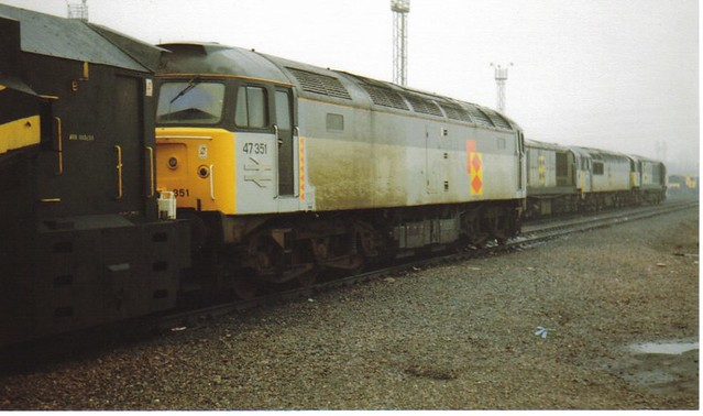 47351  Toton stabled on the road.