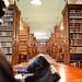 Vista de la biblioteca académica.