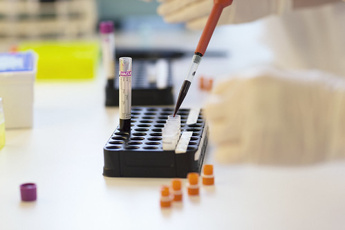 blood samples | by NTNU medisin og helse