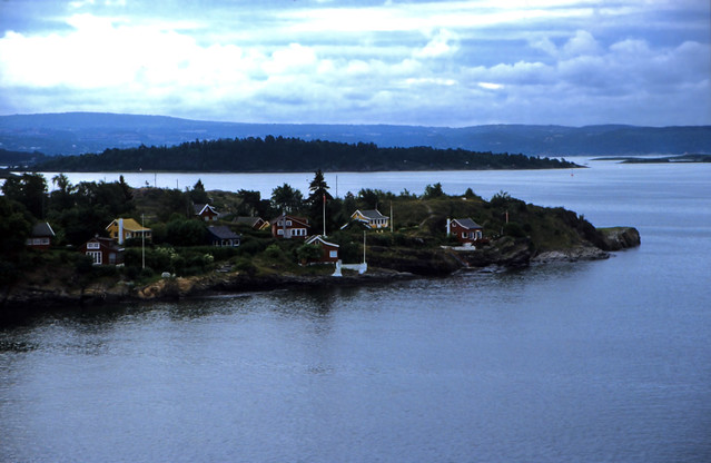 Norwegen 1998 (014) Oslofjord: Nakholmen