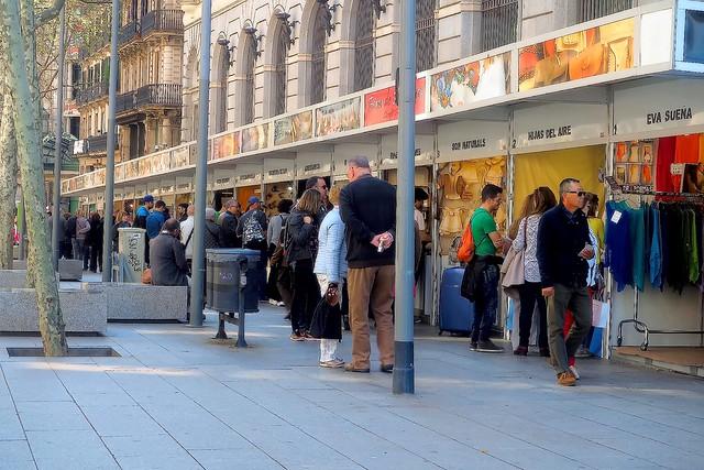 Barceloneando - Feria de Artesanos
