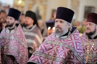 Литургия в Покровском соборе 135