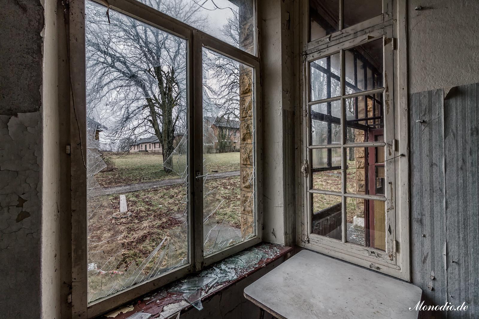 Die verlassene Kaserne
