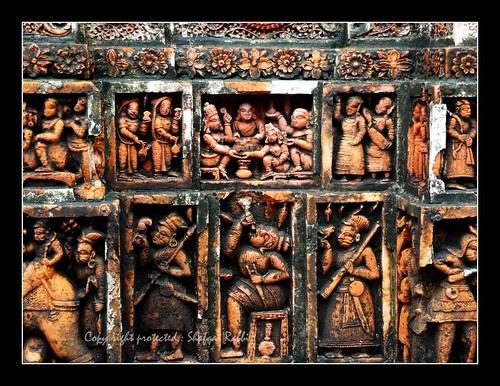 history temple terracotta sony culture dinajpur kantaji kantajew hx10v