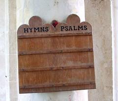 hymns, psalms