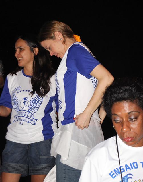 Portela 2009 - ensaio técnico, 08 de dezembro de 2008, Sapucaí.