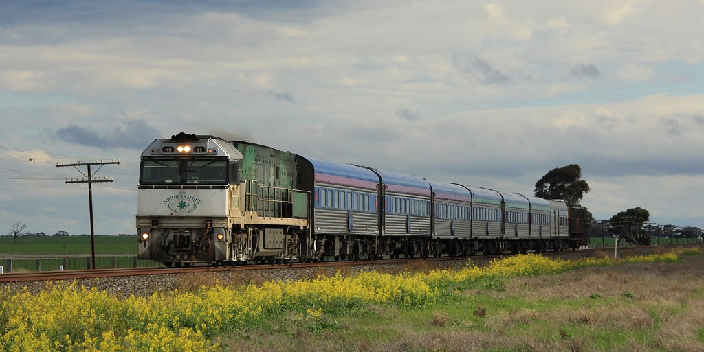 NR85 has been the engine of choice for the Overland for the past week seen here East of Dooen by bukk05