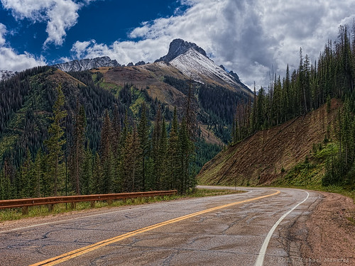 road mountain mountains nature forest landscape rockies highway colorado pass alpine cameron co rockymountains mountainpass cameronpass clff