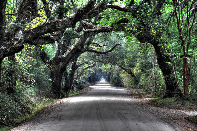 ...the road out...