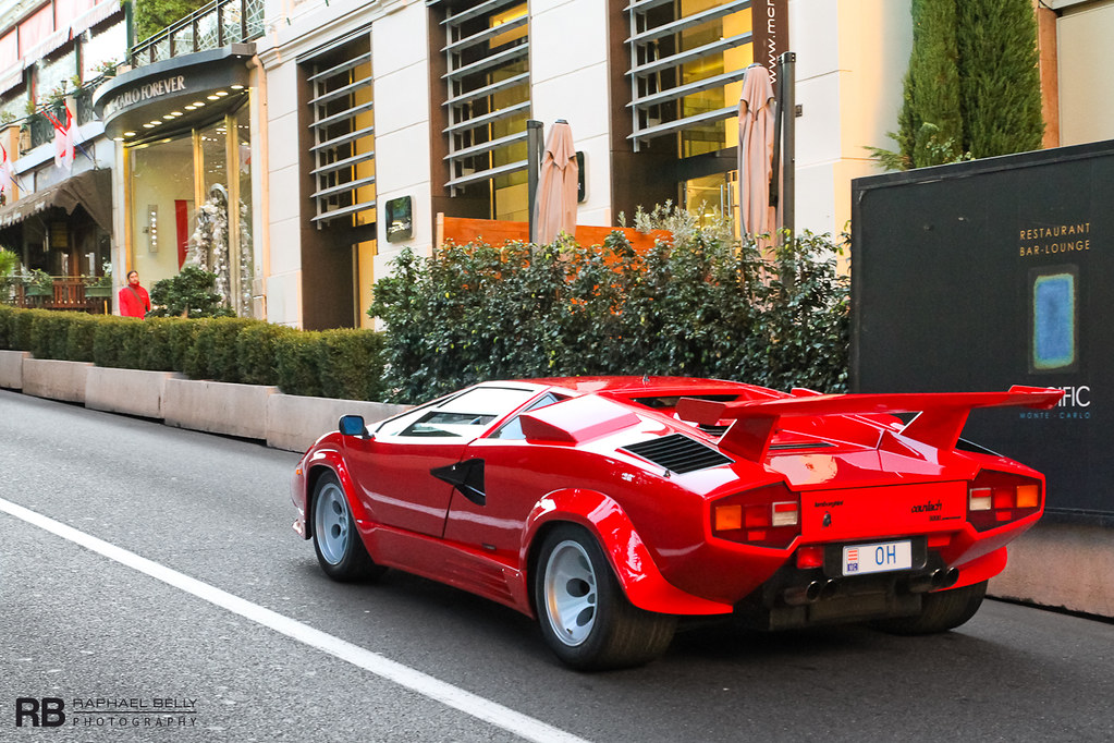 Lamborghini Countach 5000 Quattrovalvole Raphael Belly Flickr