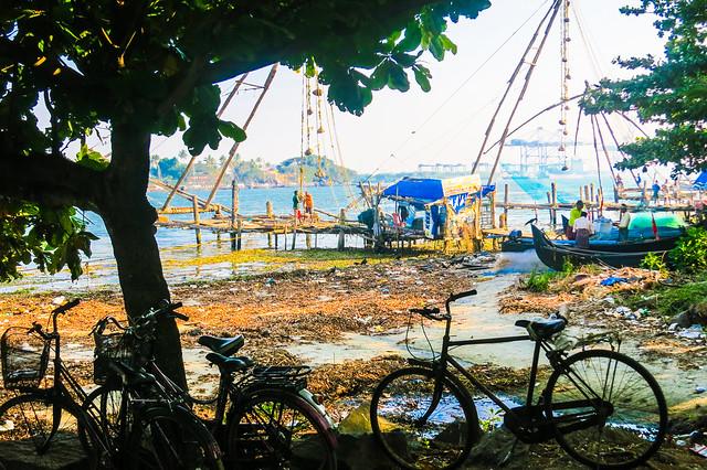 Net fishing, Kochin