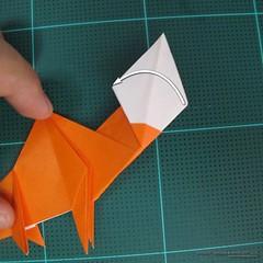 วิธีการพับกระดาษเป็นรูปไดโนเสาร์ (Origami Dinosaur) 019