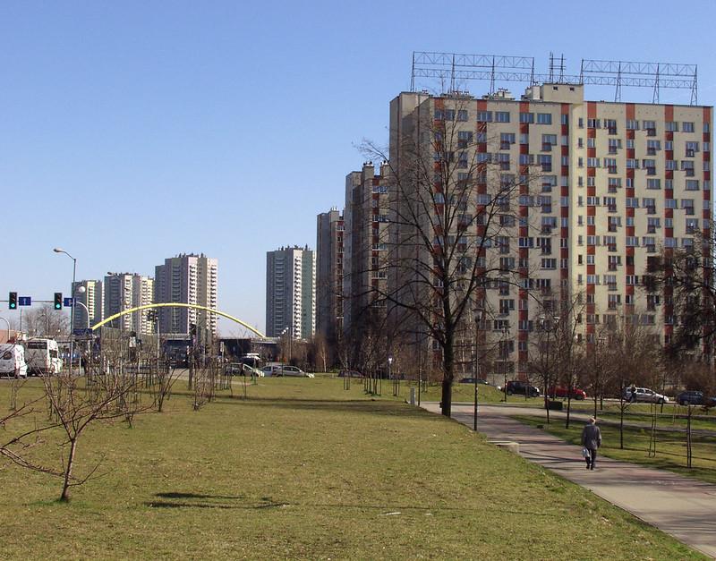 Katowice,wieżowce