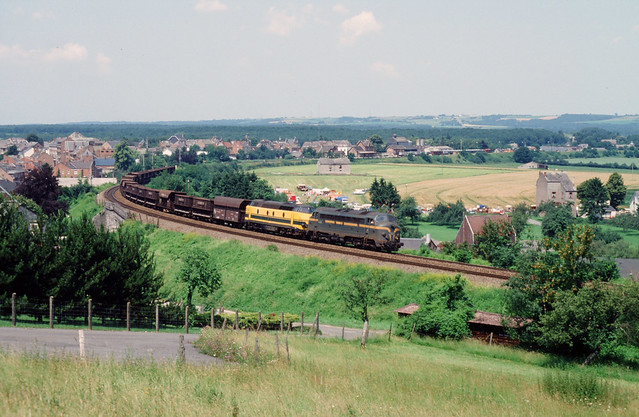 NMBS ertstrein bij Beauraing (B), 1992.