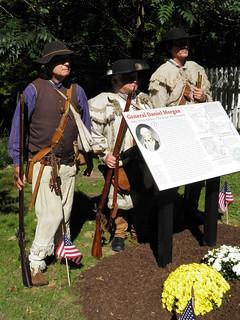 3 General Daniel Morgan sign ceremony P9260156