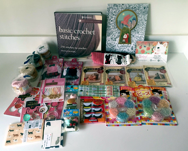 Daiso and Miscellaneous haul
