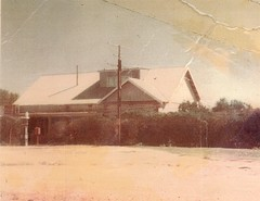The Calomba Store and Post Office was rebuilt after the disastrous fire in January 1948 by the Howard family.