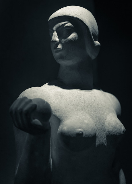 Severe woman - Modern
