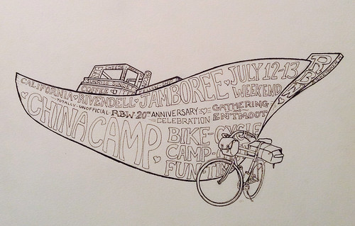 riv jamboree boat line art | by BikeTinker