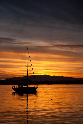 california sailboat sunrise sandiego availablelight sailboats canoneos sandiegobay civiltwilight