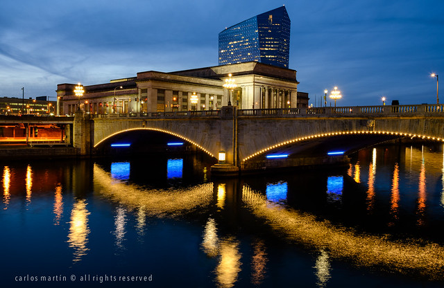 Philadelphia: 30th St. Station, Cira Centre and Market St. Bridge