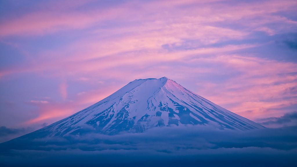 瑞雲 (Mt. Fuji with Colored Clouds) | Nikon D800E w/ SIGMA 24-… | Flickr