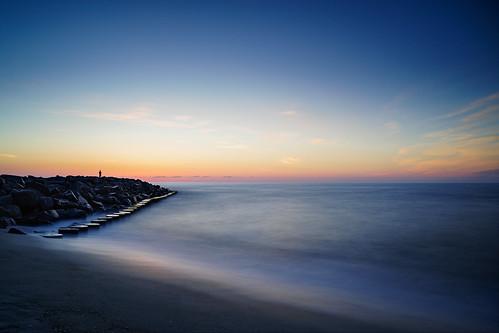silhouette sunrise jetty fortfisher wilmingtonnc fortfishersunrise leebigstopper sonyilce7r sel2470z