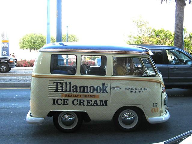 One of Tillamook's shortened VW Bus promotional vehicles  IMG_0011_3