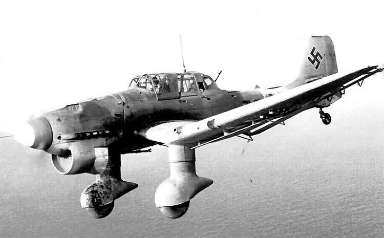 "Junkers Ju 87B ""Stuka"""