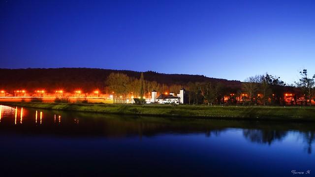 Blue Night-The white farm