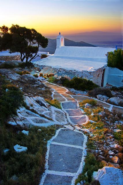 Ios island, Creece
