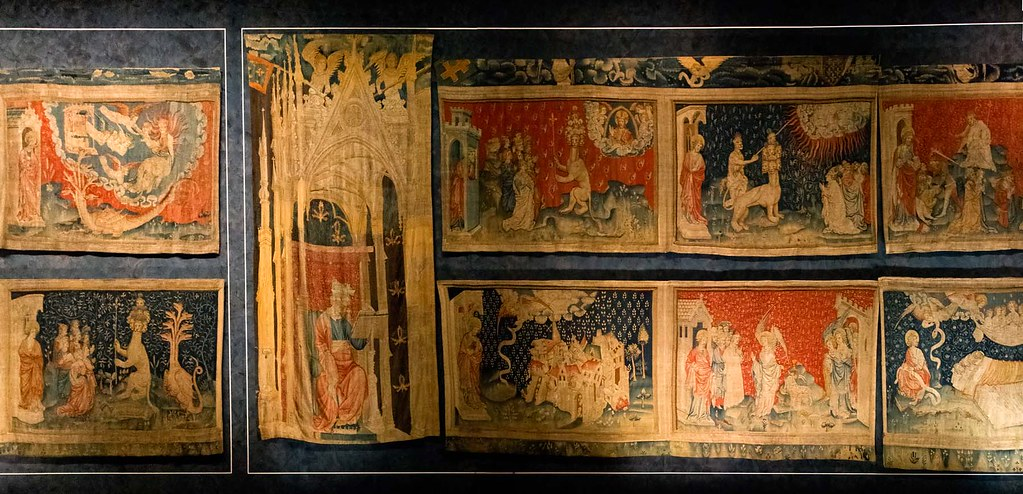 Apocalypse Tapestry The Apocalypse Tapestry Is A Medieval