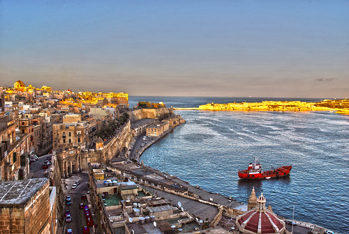 Malta: view from Valetta | by Ben124.