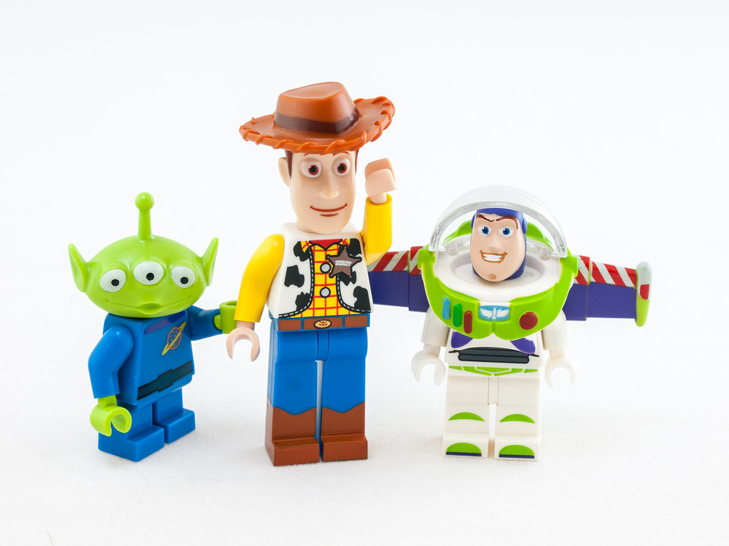 Lego Toy Story   Lego characters from Toy Story PERMISSION T…   Flickr