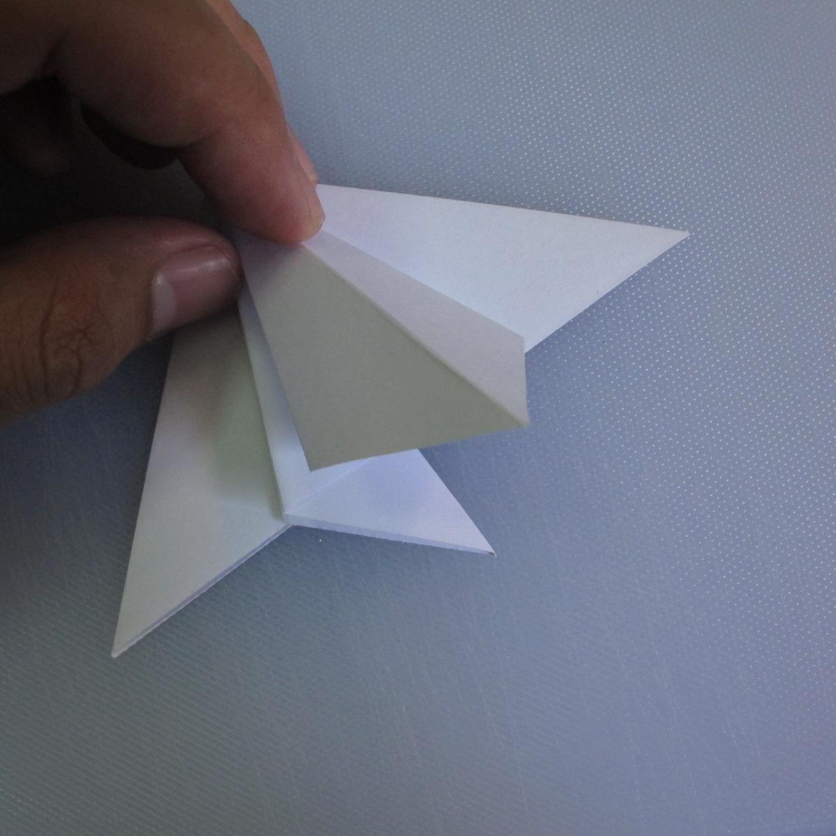 วิธีพับกระดาษเป็นรูปดอกลิลลี่ 008