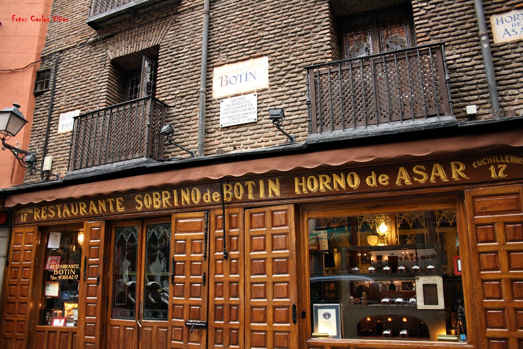 Casa Botín. Calle Cuchilleros. Madrid