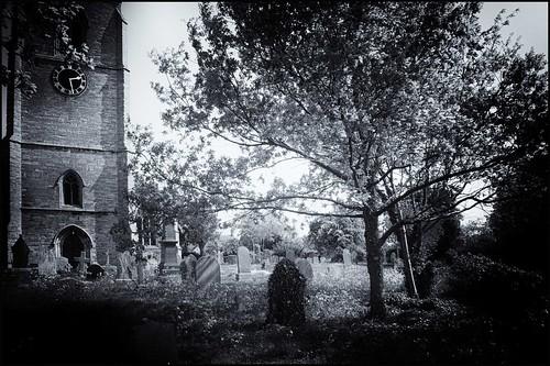 Churchyard   by Gerard Hayfield