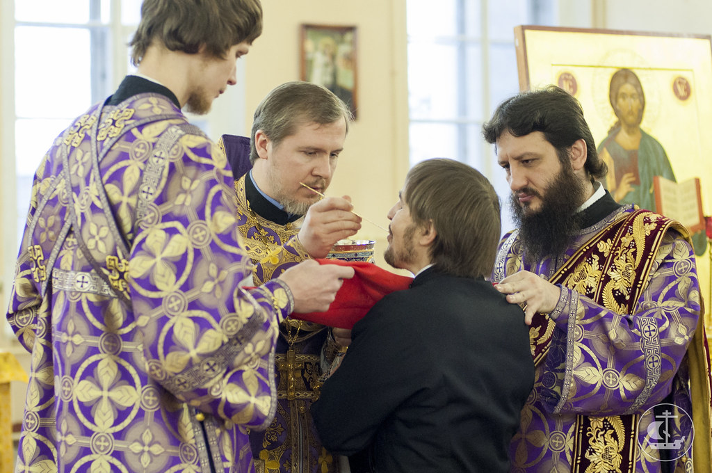 23 марта 2014, Литургия в Неделю Крестопоклонную / 23 March 2014, Liturgy on  the Sunday of the Veneration of the Holy Cross