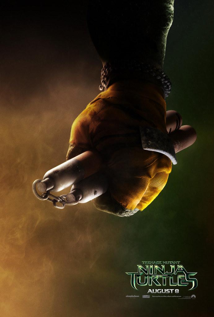 "PARAMOUNT :: ""TEENAGE MUTANT NINJA TURTLES"" ; 'MICHELANGELO' ..teaser poster  (( 2014 ))  [[ Courtesy of PARAMOUNT ]] by tOkKa"