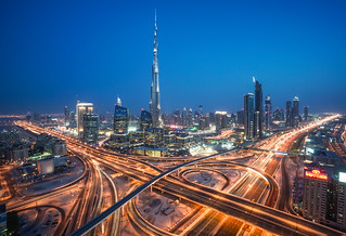 Dubai -Burj Al-Khalifa   by Gordon-Shukwit