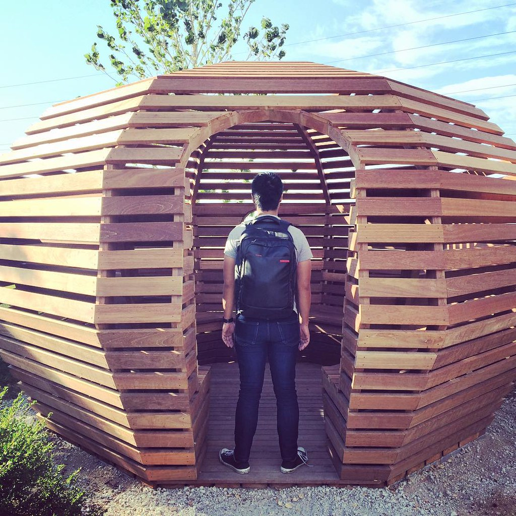 Beehive, sauna or wooden oasis? #facebook #facebookHQ #sil… | Flickr