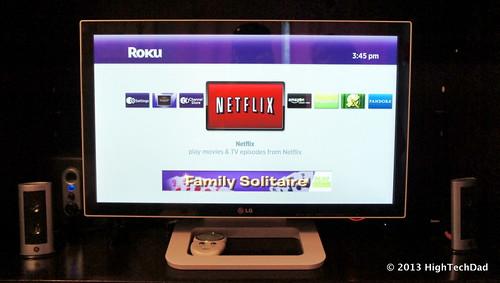 Running Roku - LG 23ET83 monitor   by HighTechDad