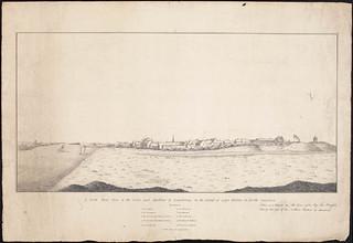 The town and harbour of Louisbourg on the island of Cape Breton / La ville et le port de Louisbourg sur l'île du Cap-Breton