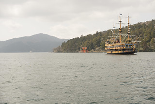 Pirate ship on Lake Ashi | by Maarten1979
