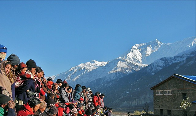 Facing Annapurna